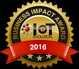 IoT Evolution Business Impact Award 2016